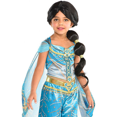 70098dc1aae Child Jasmine Ponytail Wig - Aladdin