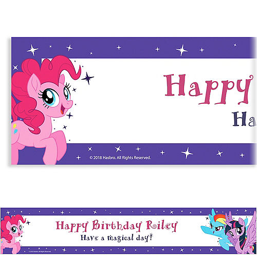 Custom My Little Pony Banner