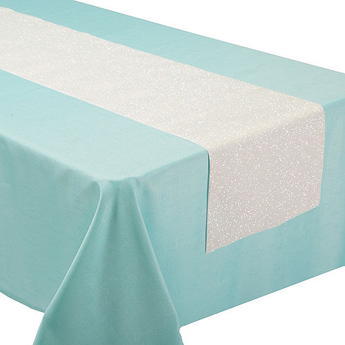 Shimmering Party Table Runner