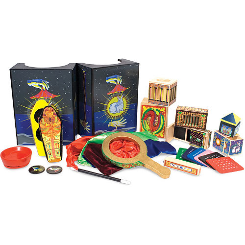 f85ab0ab05a Melissa   Doug Deluxe Solid-Wood Magic Set with 10 Classic Tricks