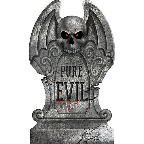 Pure Evil Tombstone