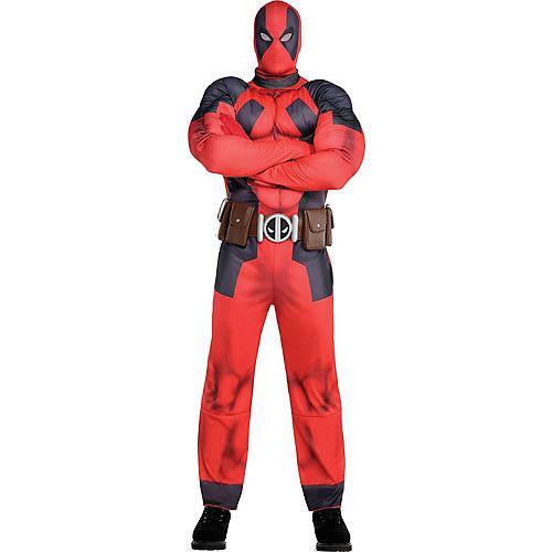 Adult Deadpool Muscle Costume