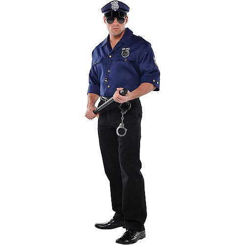Mens Police Costume Accessory Kit