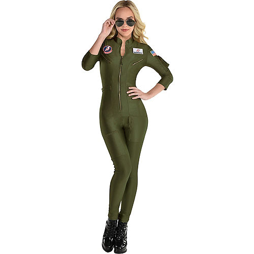 Maverick Flight Suit Costume for Women - Top Gun 2