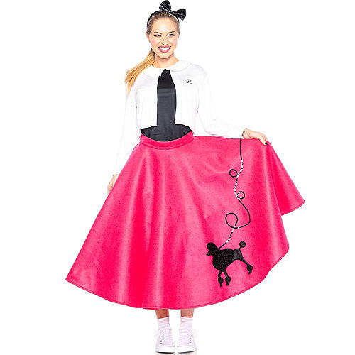 Adult Poodle Skirt 50s Costume