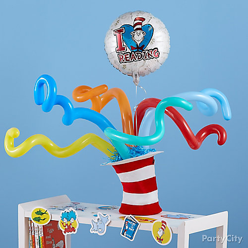 Cat in the Hat Balloons Idea