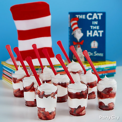 Cat in the Hat Parfait Idea