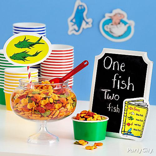 One Fish Two Fish Snack Idea