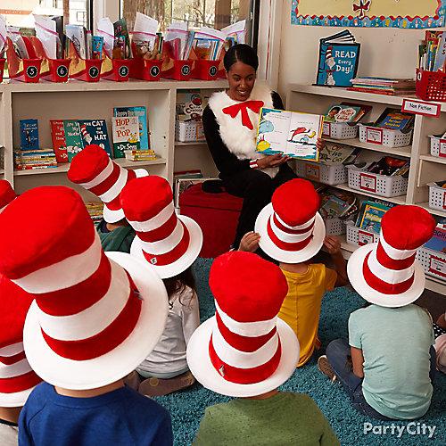 Dr Seuss Party Hats Idea