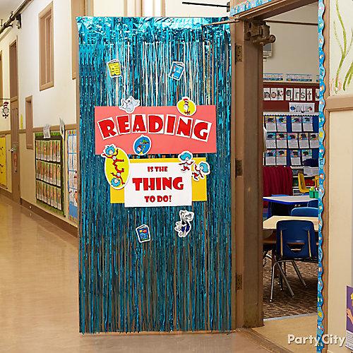 Reading Party Door Decorating Idea