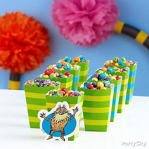 Truffula Seeds Popcorn Idea